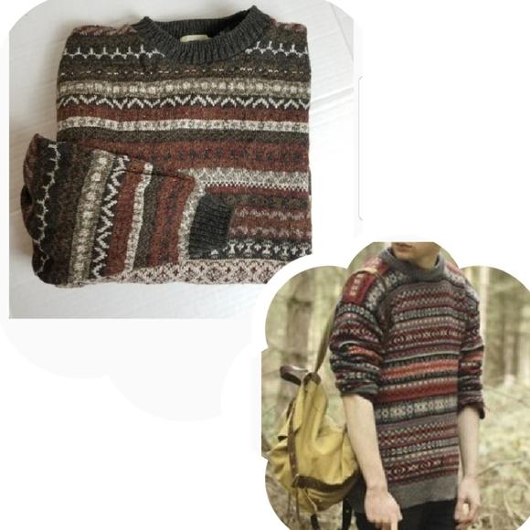 VINTAGE Haggar fair isle chunky sweater